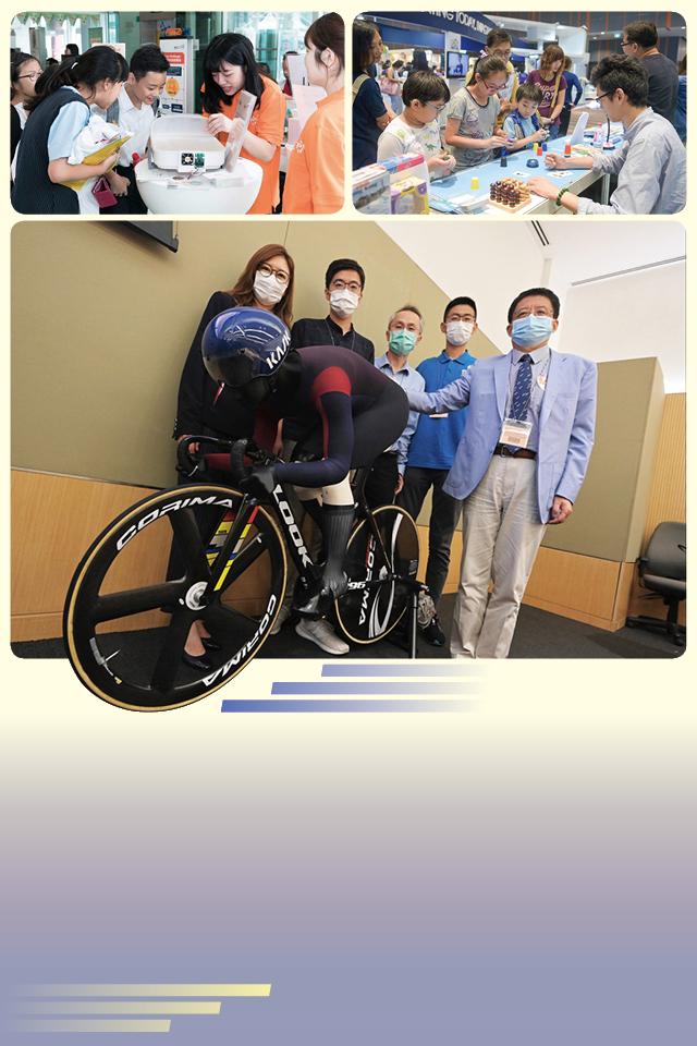 創新科技嘉年華2021  牛下女車神單車戰衣科技大揭秘!