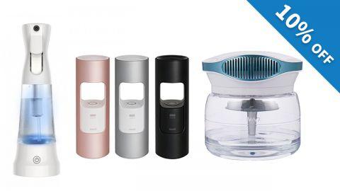 購買空氣質素產品可享9折優惠