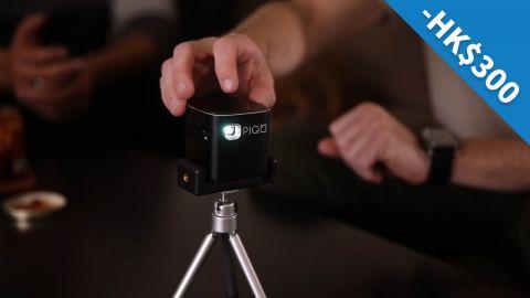 美國PIQO極細1080p HD智能投影機HK$300優惠代碼