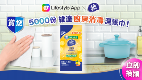 【至筍貨】廚房消毒濕紙巾10片裝