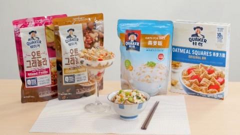 降膽固醇!桂格健康瘦身燕麥食譜 高纖維燕麥飯/燕麥芭菲