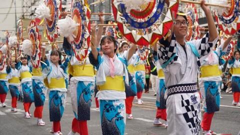 鳥取最大夏祭 傘舞祭