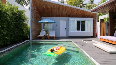 蘇梅3大抵住Resort 無邊泳池 / 原野風 / 型格系
