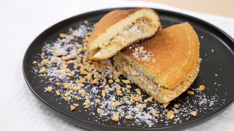 簡單3步自製懷舊小食! 香甜鬆軟爆餡潮式冷糕