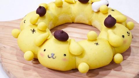 旺角烘焙店推Sanrio官方授權甜品班 超可愛布甸狗/AP鴨/肉桂狗麵包圈