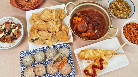 超市必試韓國直送小食 薯仔粒熱狗棒/蒟蒻辣雞拌麵/辣燉豬骨粉絲年糕