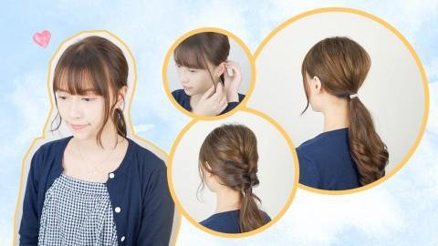 【編髮】手殘女也OK!4個編髮必學達人級技巧!2分鐘學會編髮