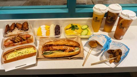 鴨脷洲西邨街市翻新後變特色漁市場美食街! 海南雞飯/台式炸雞/超可愛造型點心包/芝芝金菠蘿/香港製造蝦子麵