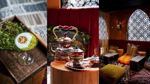 【旺角好去處】旺角新開摩洛哥民族風酒吧x茶室!奶蓋桃茶雞尾酒/煙熏威士忌/伯爵茶/卷蛋