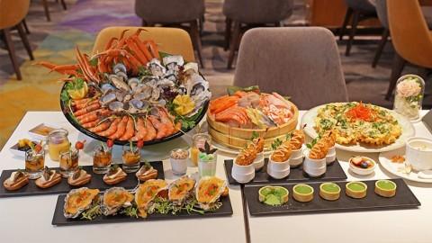 香港百樂酒店Park café 生蠔海鮮自助晚餐 限時7折優惠/生日優惠4人同行壽星免費!
