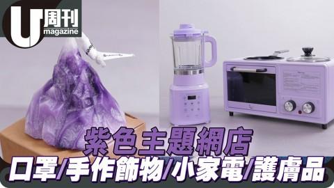 紫色主題網店 口罩/手作飾物/小家電/護膚品