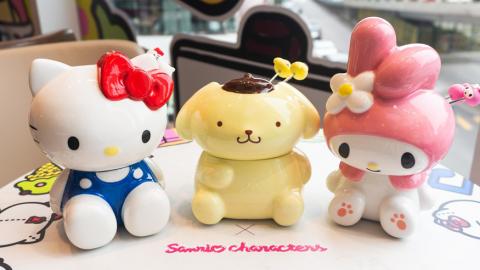 Häagen-Dazs聯乘Sanrio推出雪糕火鍋/雪糕蛋糕/冰袋 布甸狗/Hello Kitty/Melody