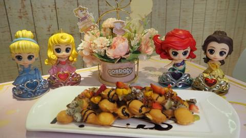 迪士尼公主登陸太古!公主主題Cafe/燈海鏡房/巨型光影玫瑰