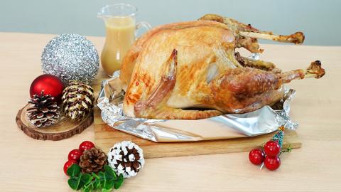 超豐富聖誕節到會套餐推介 原隻烤火雞/巨型牛肋排/Hershey's朱古力brownie