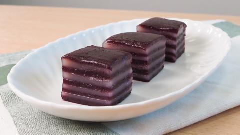 零失敗口感Q彈煙韌 紫薯椰汁千層糕食譜