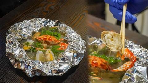 【長沙灣美食】長沙灣超抵食$75新鮮足料花蟹花甲粉! 即叫即整泰式花甲/鹽燒鱸魚/惹味串燒
