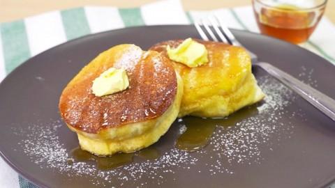4步零失敗自製超鬆軟甜品 日式梳乎厘班戟食譜