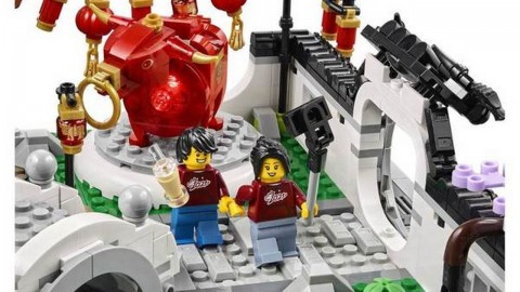 【e+同你試】新春特別版 LEGO 開箱試砌