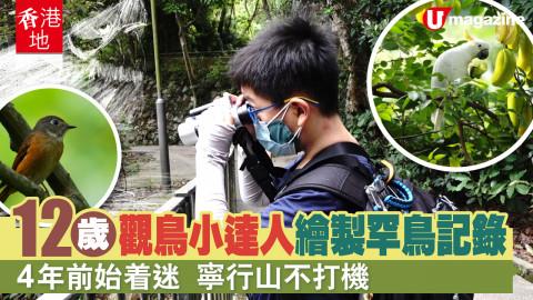 【香港地】12歲仔唔鍾意打機,鍾意觀鳥?
