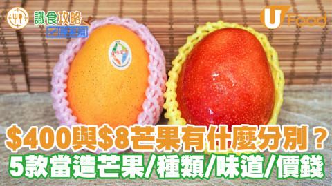 $400與$8芒果有什麼分別?5款當造芒果的種類/味道/價錢(附揀靚芒果貼士)
