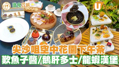 Teaset優惠!尖沙咀空中花園下午茶 歎魚子醬/鵝肝多士/龍蝦漢堡